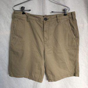 Black Brown Men's Dress Khaki Shorts